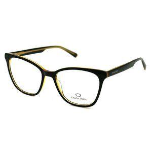 Charles Delon Cat Eye Style Yellow/Black Frame